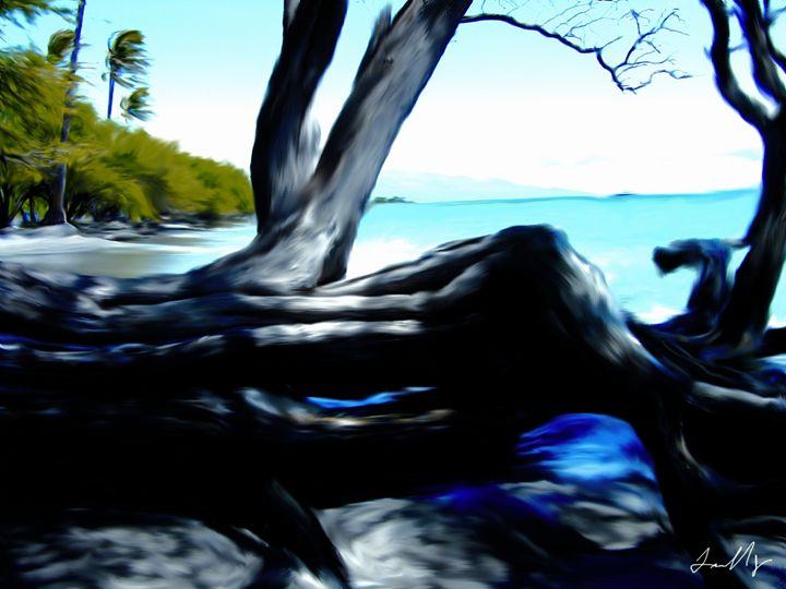Fallen Koa - Abstract Fine Art & Photography by Len Morales Jr.