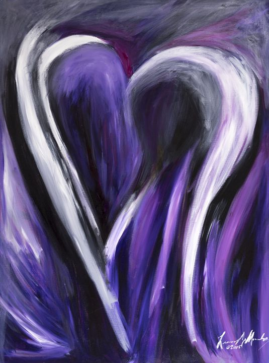 Open Heart - Abstract Fine Art & Photography by Len Morales Jr.