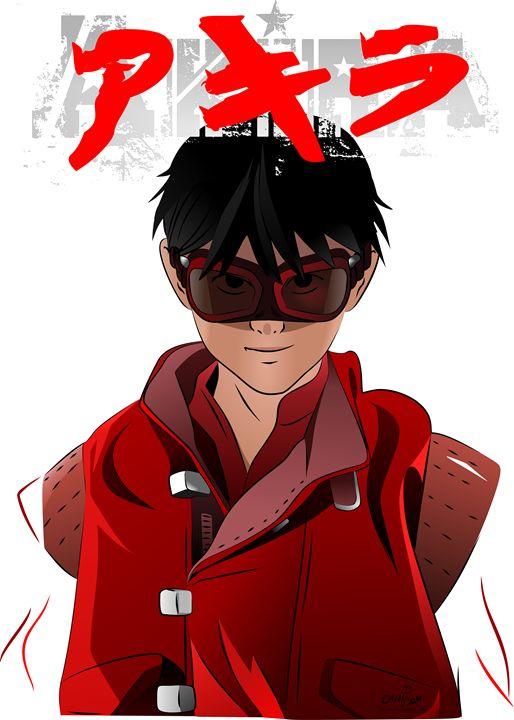 """Akira """"Kaneda"""" - Thiago Garou Mitsu - Art"""