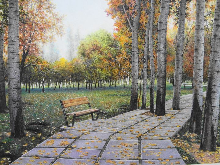 Autumn - Ensieh Farrokhi