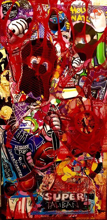 Super Taliban - Christopher Johnson Art