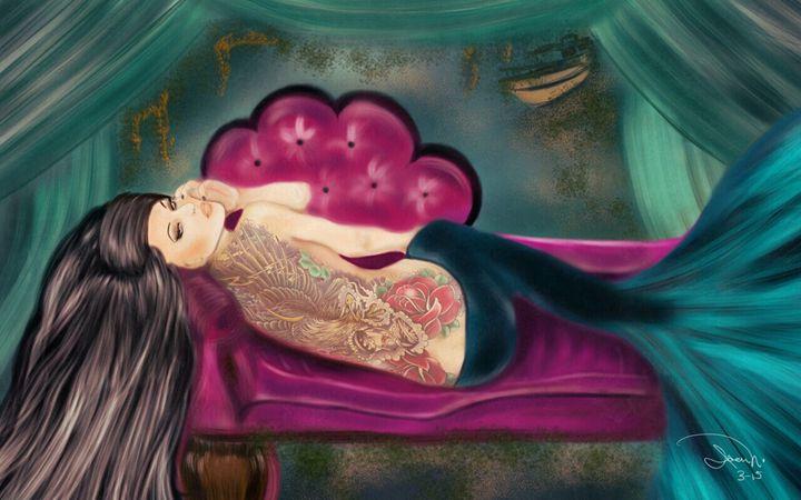 Blanca - Morena Bohemia Art