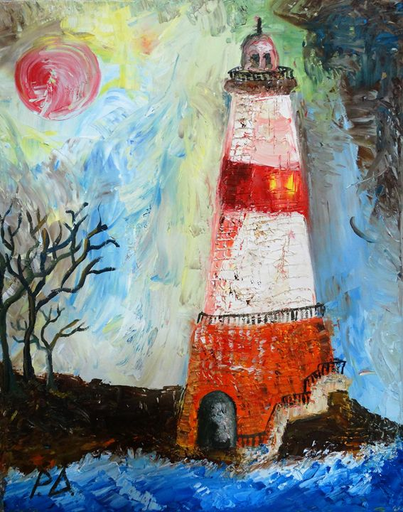 A lighthouse ..at the end of Earth.. - RIBAS -ART