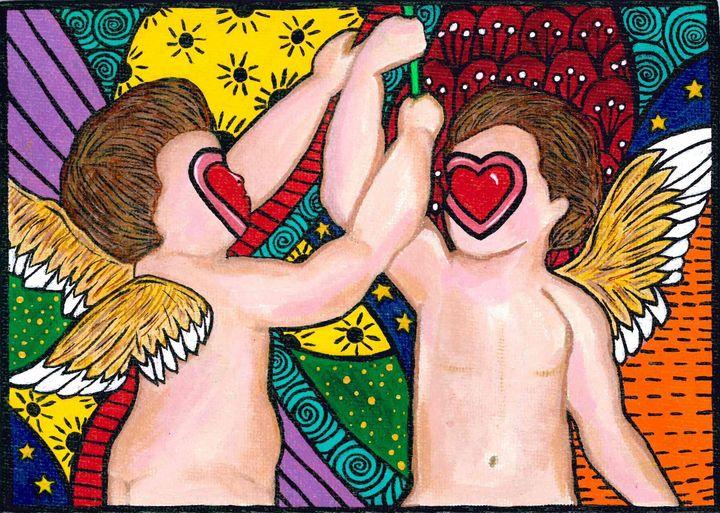 Lovers, Lust, & Forever's - The Art World of Wendy