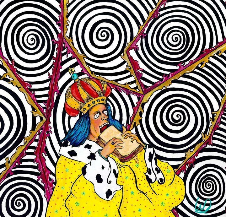 PB & J King Craze - The Art World of Wendy