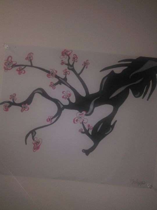Chinese Dragon cherry blossom - Maggs