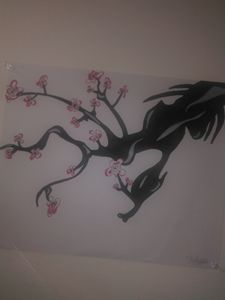 Chinese Dragon cherry blossom