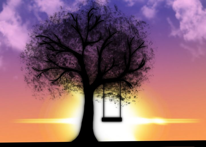 Sunrise swing set - Melissa