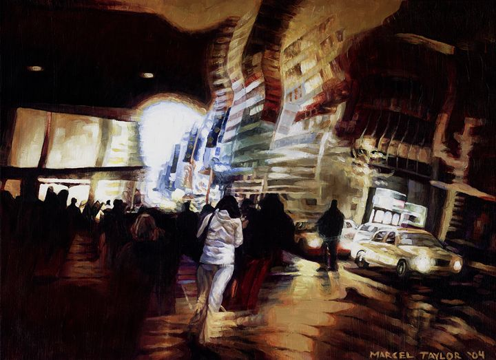 Tunnel Vision - City Lights by Marcel Taylor