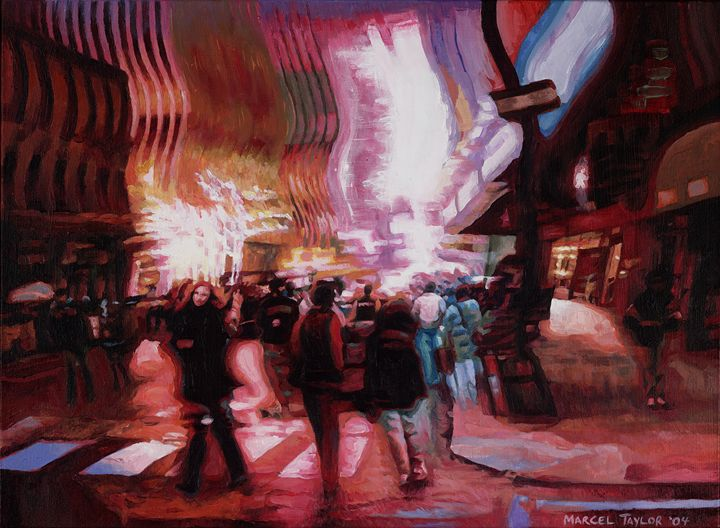 Urban Swarm - City Lights by Marcel Taylor