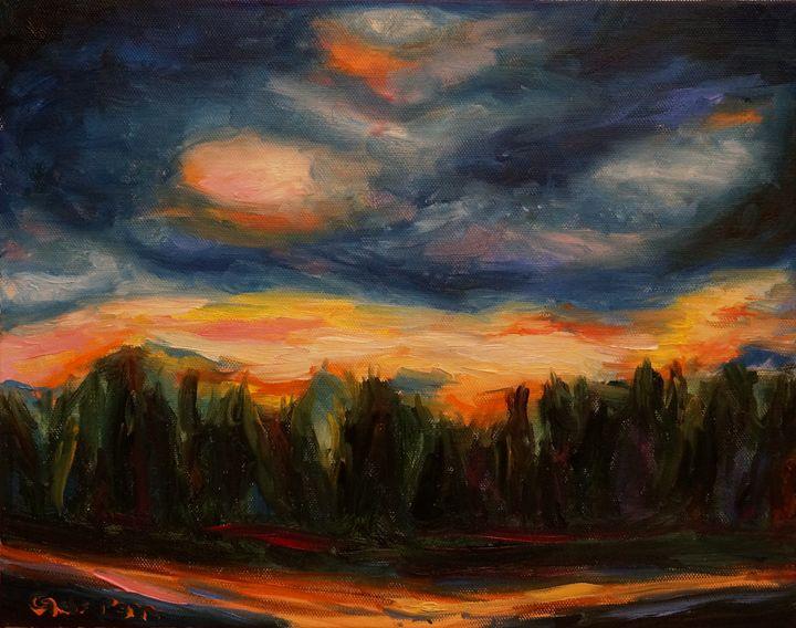 Sunset Tierrasanta - Dixie Galapon Art