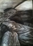 18 x 24 charcoal 'The Promise'