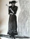 18 x 24 charcoal 'Lady Mine'