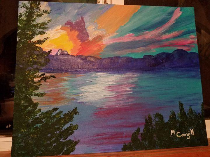 Lake Sunset - Mary Cargill