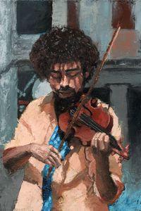the violist