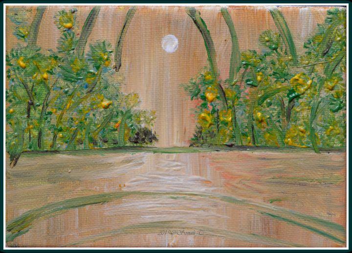 Moonrise - Sonali's Artistic Hues