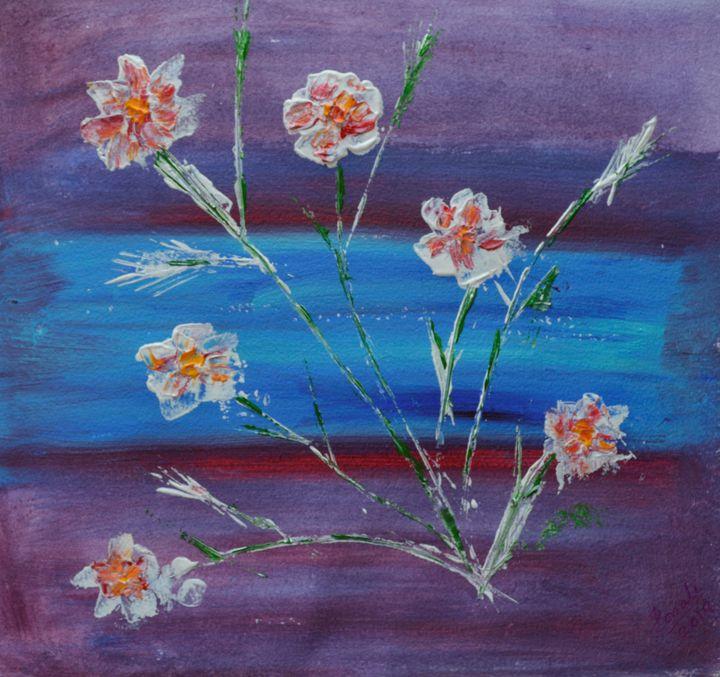 Floral abstract 2 - Sonali's Artistic Hues