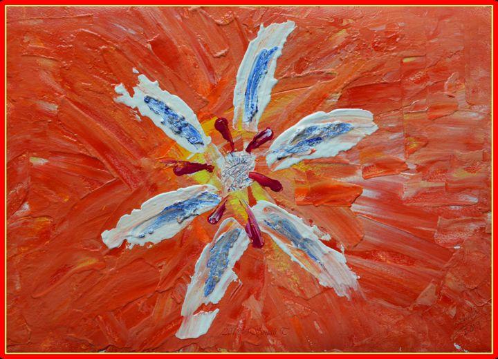Floral Abstract 3 - Sonali's Artistic Hues