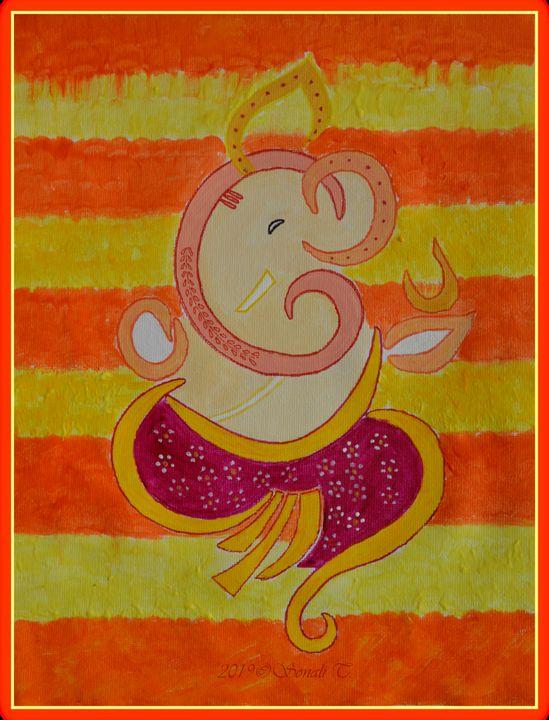 Lord Ganapati - Sonali's Artistic Hues
