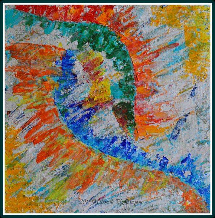 Helical fusion - Sonali's Artistic Hues