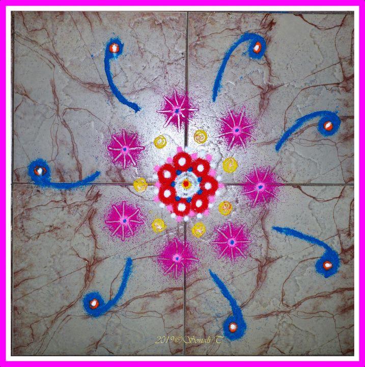 Rangoli Decor - Sonali's Artistic Hues