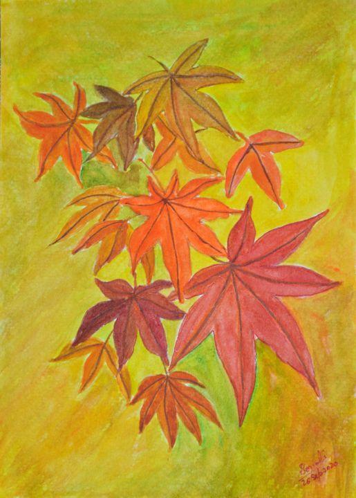 Advent of Fall - Sonali's Artistic Hues