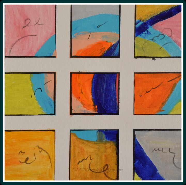 Abstract art 1 - Sonali's Artistic Hues