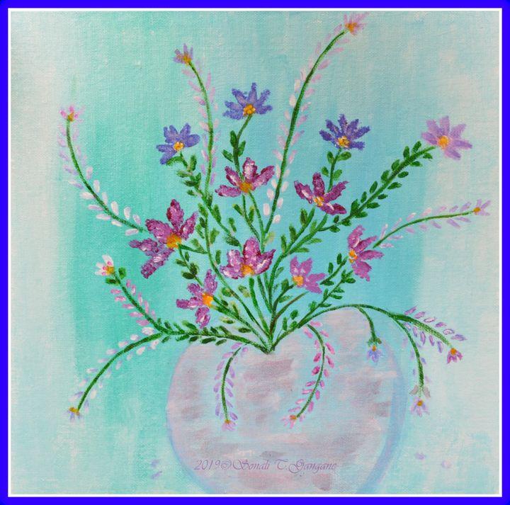 Bouquet of Joy - Sonali's Artistic Hues