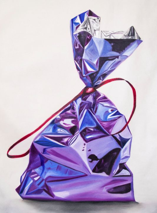 Purple bag - Marcela Montemayor