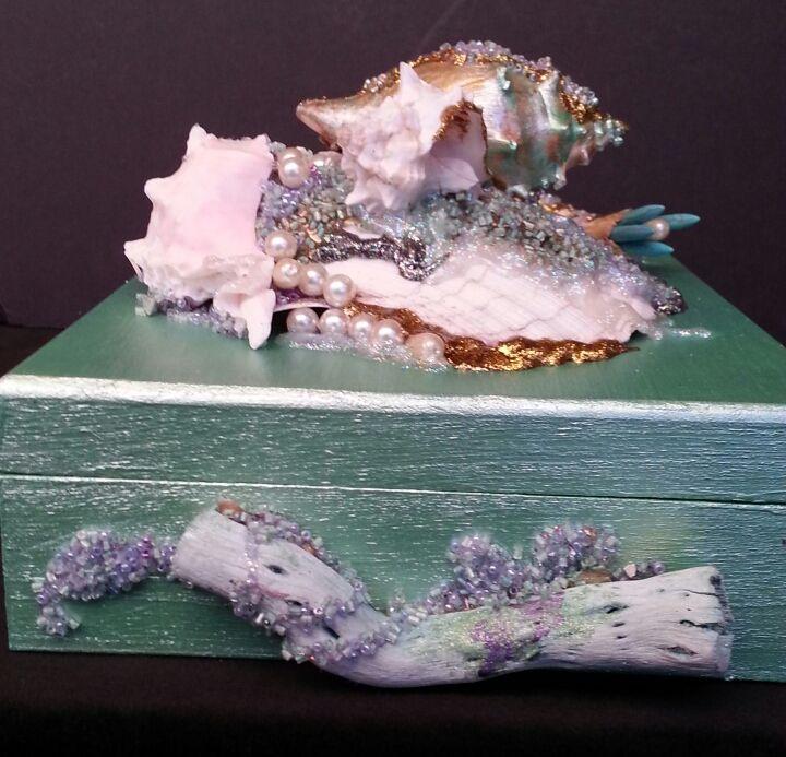 Jewelry  Box - Art by Mary S