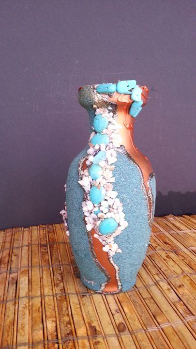 Navajo  Ceremic  Vase - Art by Mary S