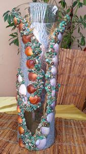 Glass Center piece Vase