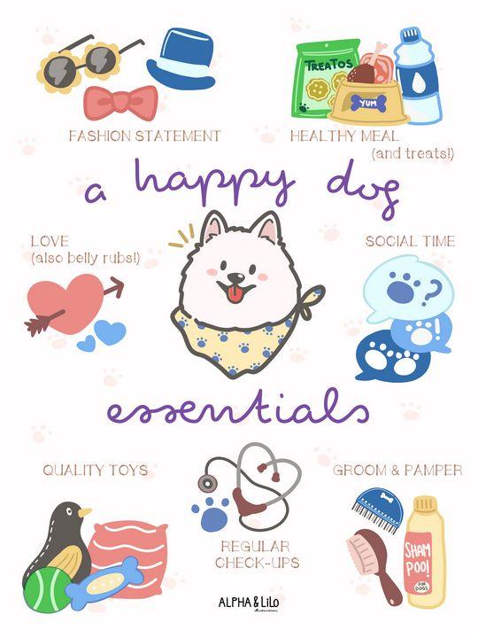 A Happy Dog Essentials - Alpha & Lilo