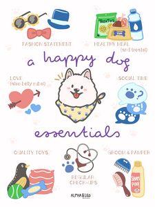 A Happy Dog Essentials