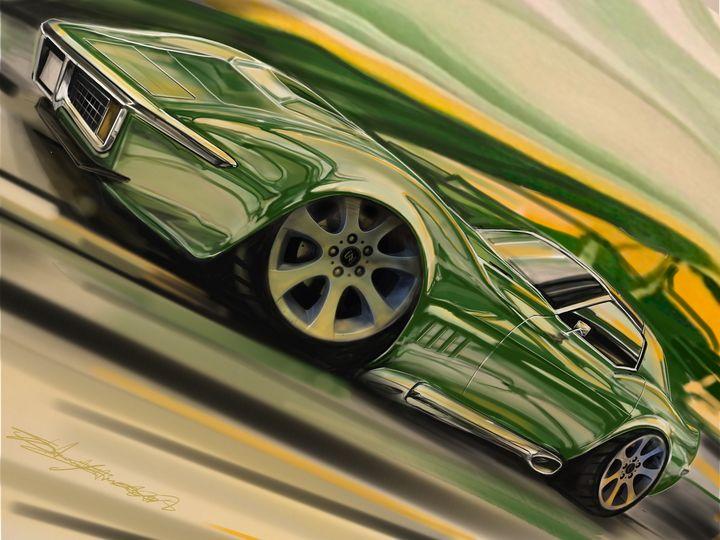 Borealis Effect 69 Corvette - Sammy James Studio
