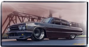 63 Custom Bel Air - Sammy James Studio