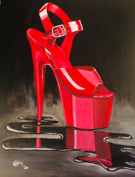 walk in red - Welcome to Holyhandsproductions Gallery on ARTPAL