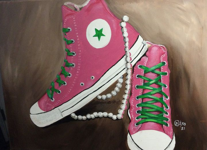 Chucks and Pearls - Welcome to Holyhandsproductions Gallery on ARTPAL