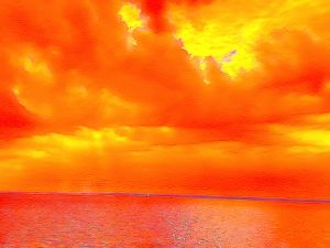 Orange Sea - Welcome to Holyhandsproductions Gallery on ARTPAL