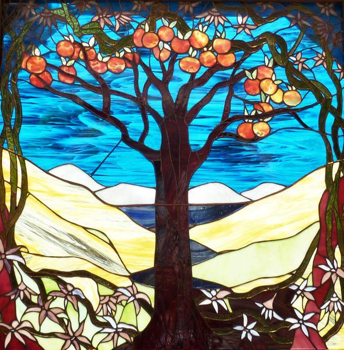 The Peach Tree - Aldina Rubino