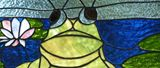 Stained-Glass Healing Frog