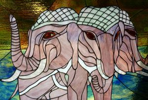 The 3-Headed Elephant - Aldina Rubino