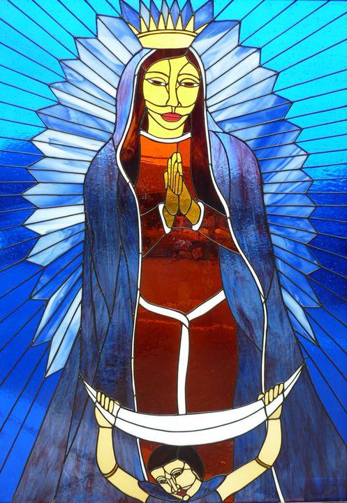 The Lady of Guadalupe - Aldina Rubino