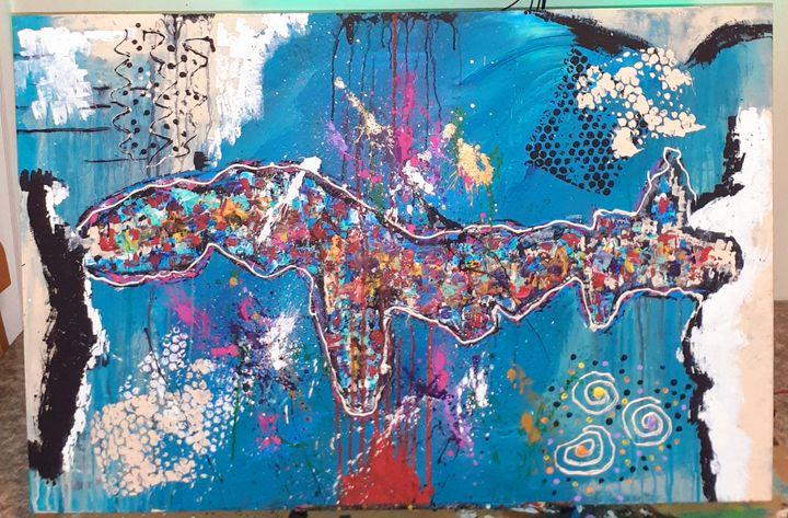 Isthmus - Jonny Pmental art