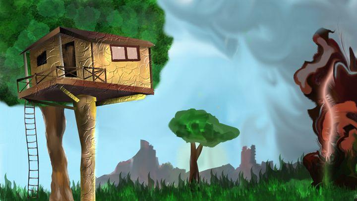 forest house - SARAVANAN
