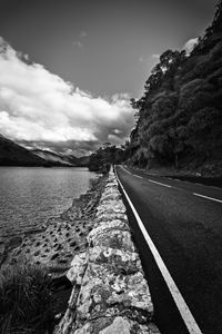 The lake of Ullswater