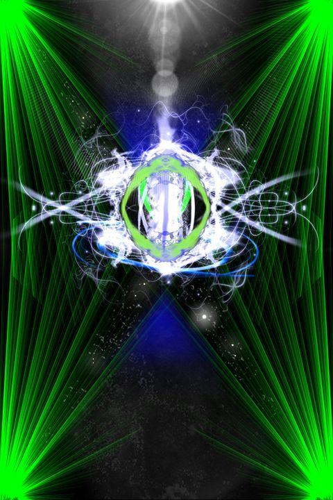 Laser Show - Drew's Online Graphics Gallery