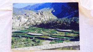 "cross stitch patern""balad Seet,Oman"""