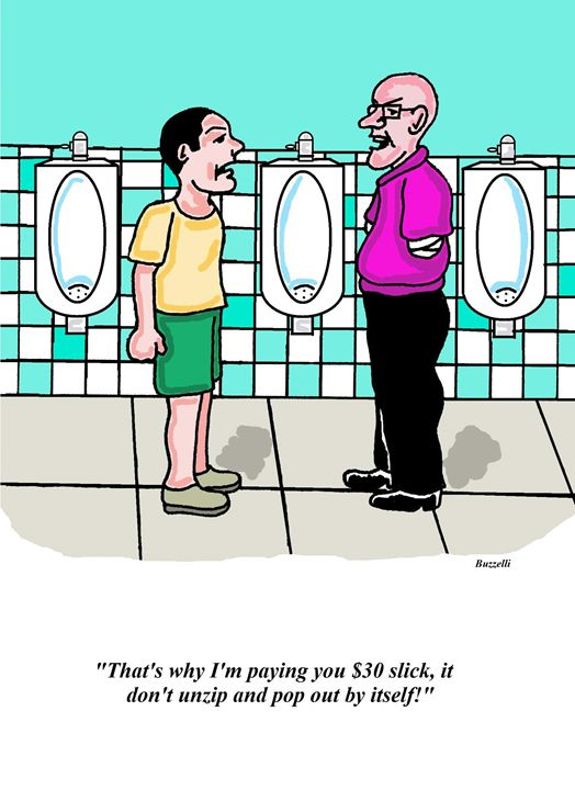 That's why I'm paying you - Art by Ray Buzzelli