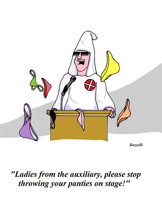 Ladies From The Auxiliary! - Art by Ray Buzzelli
